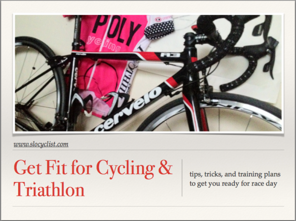 eBook with free cycling training plans,