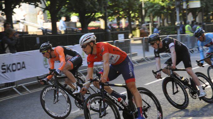 get in shape bike race