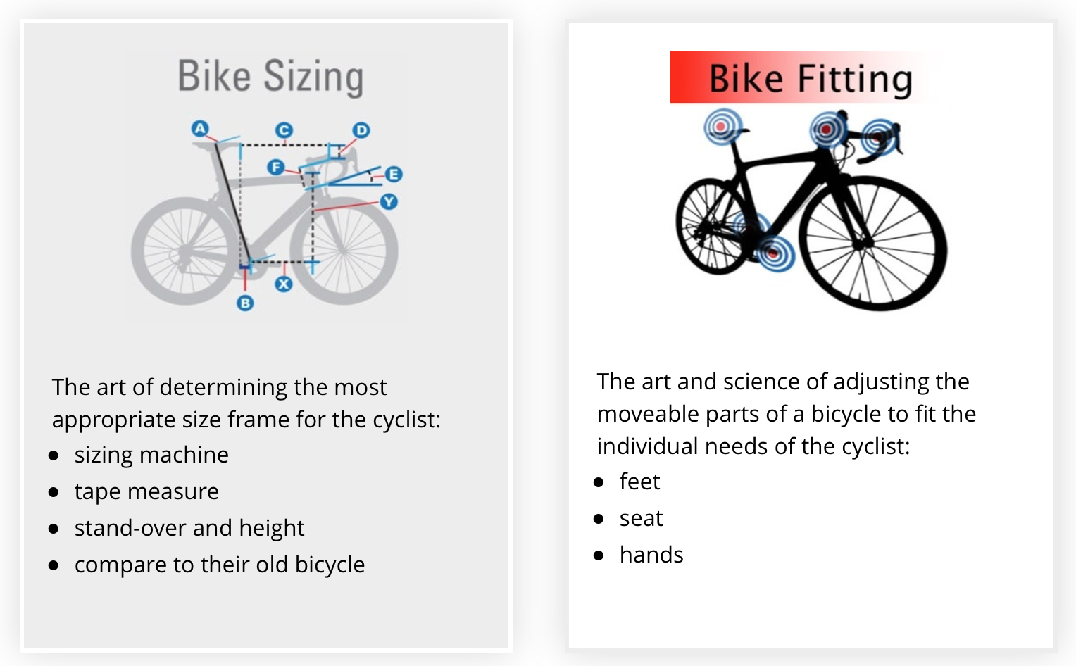 Road Bike Frame Sizes - Find & Fit The Right Bicycle for You